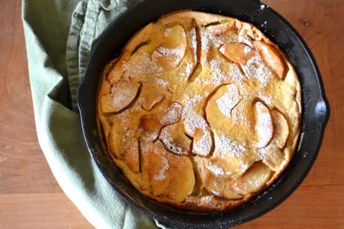apple pancake pan