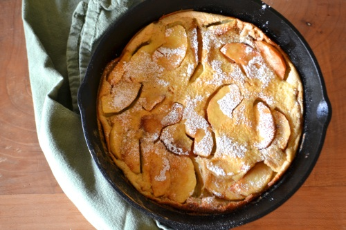 apple pancake pan