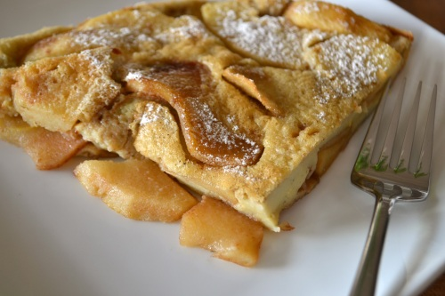 apple pancake slice