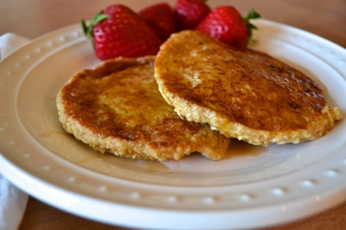 banana oat pancakes 2