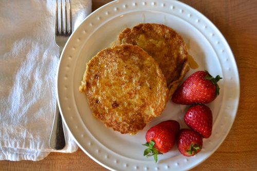 banana oat pancakes