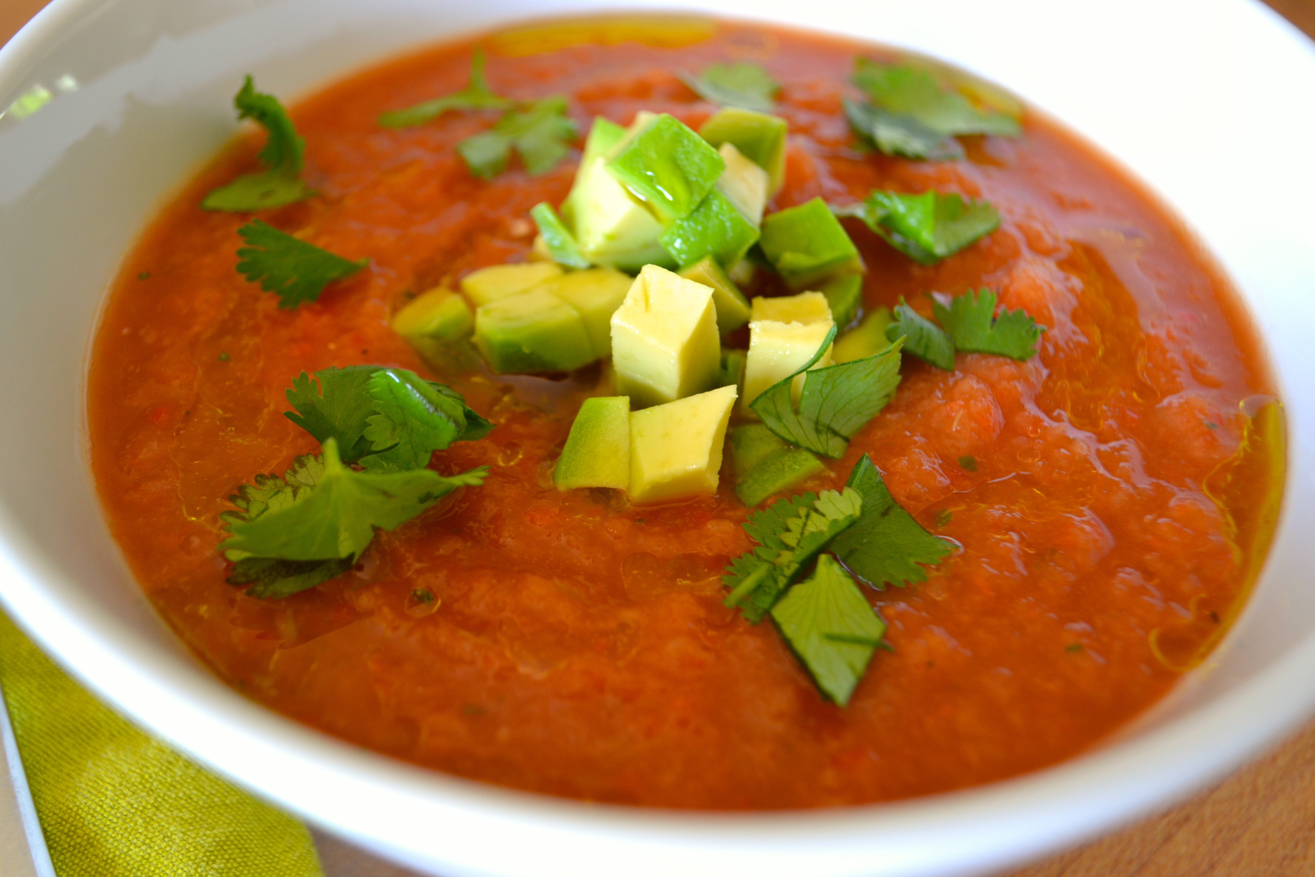 Spring- and Summertime Favorite: Gazpacho