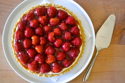 straw tart whole