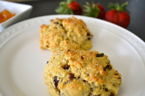 cr scones close up