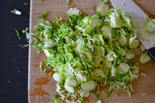 sprouts sliced