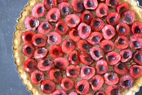 cherry tart ring above