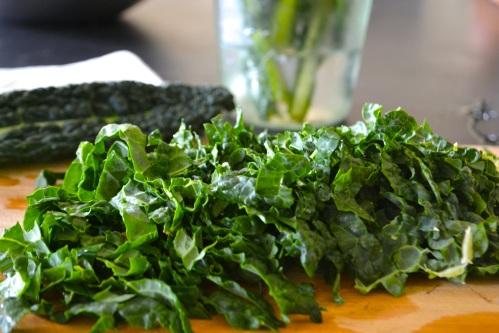 kale chopped