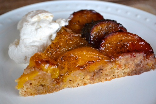 plum kuchen slice