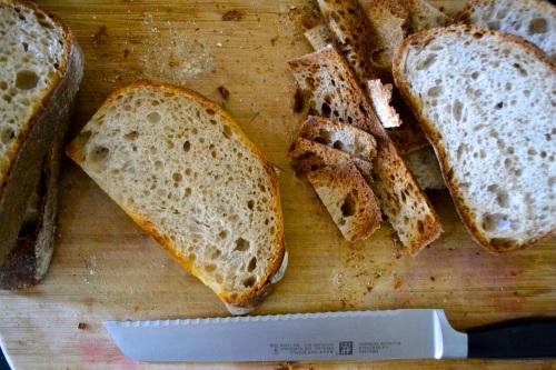 panzanella slices