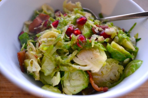 sprout pom salad close