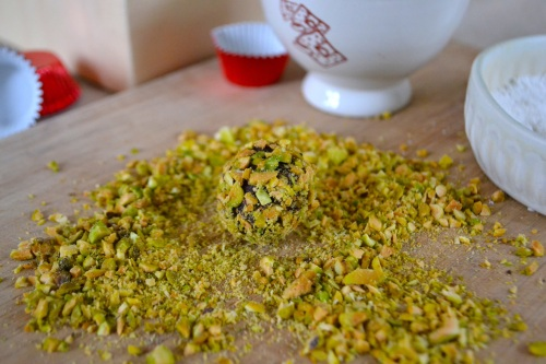 truffle pistachio