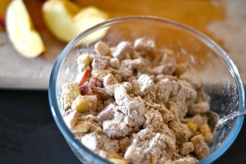 apple muffin mix
