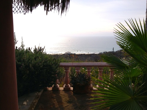 View from one of the casitas at Villa del Faro, Baja Mexico.