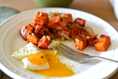 sweet potato hash eaten
