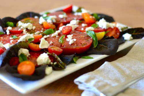 tomato salad side