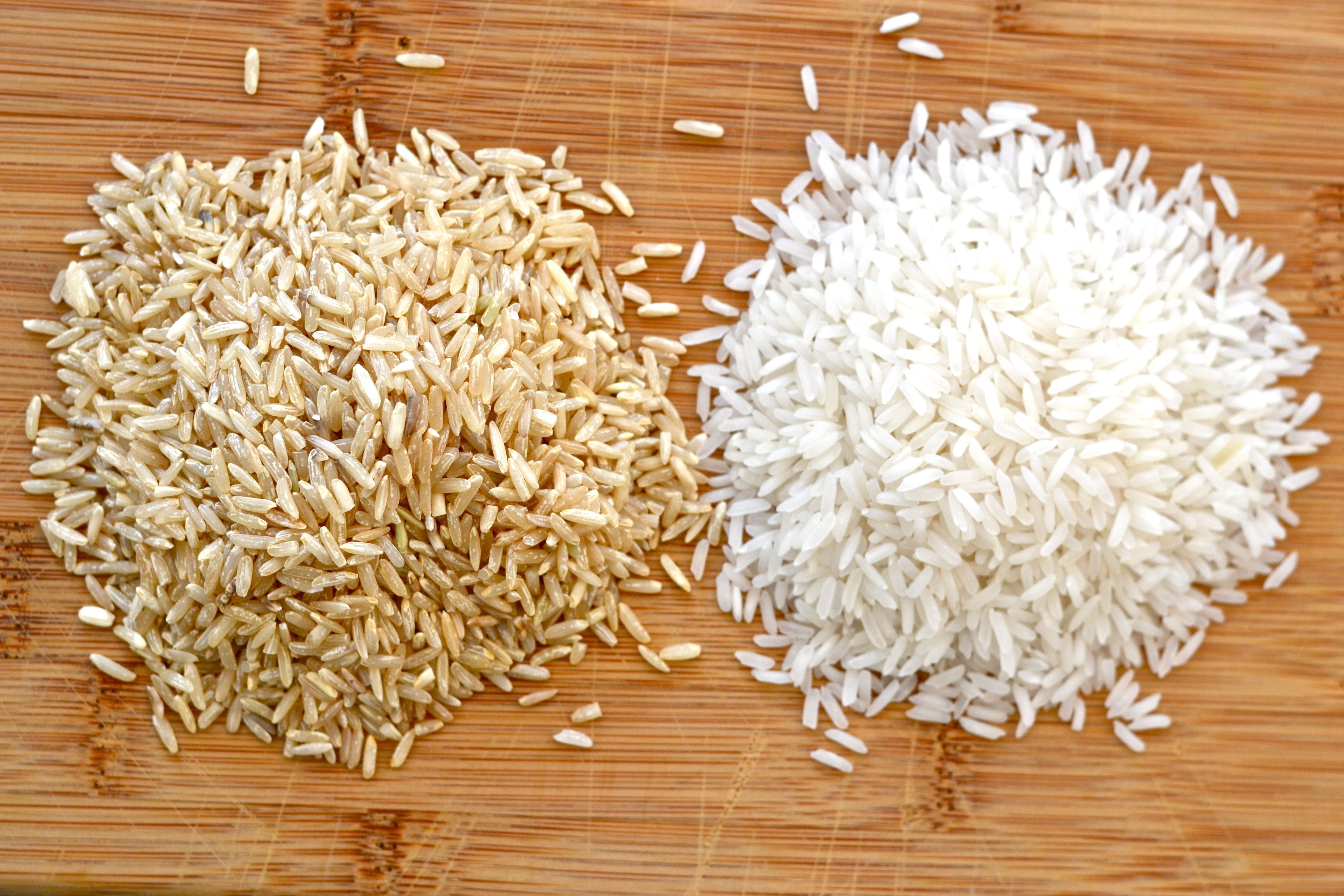 Image result for white or brown rice