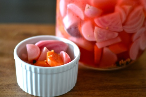 pickled veg side