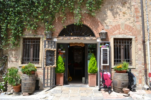 The most amazing little lunch place (Enoteca Tognoni) in the quaint town of Bolgheri.