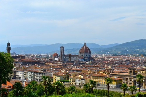 View over Firenze from the Piazzale di Michelango.